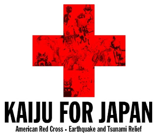 Kaiju for Japan Earthquake and Tsunami Relief Fundraiser