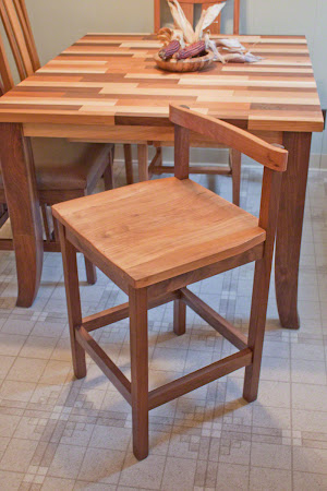 Takara Barstool in Oil & Wax Cherry
