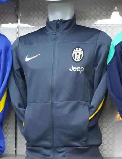 Jual Jaket Juventus Warna Hitam Kuning Terbaru 2014