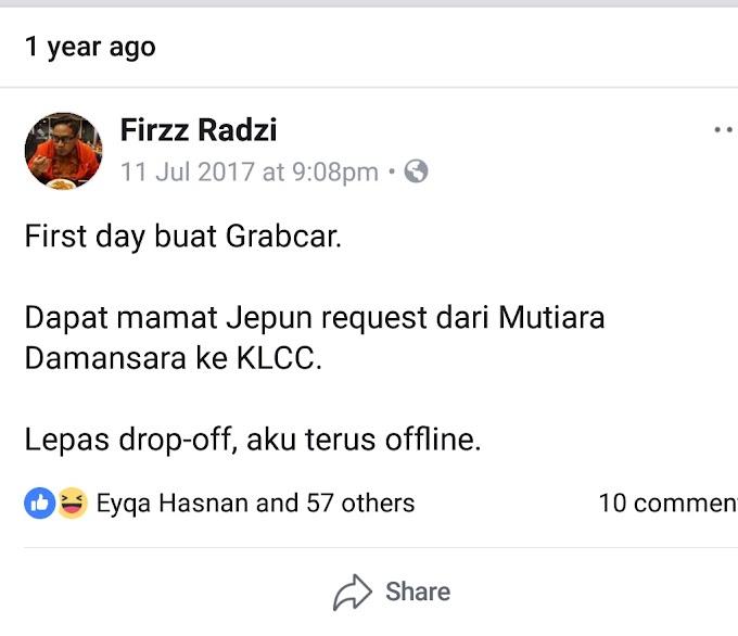 Setahun Jadi Driver Grab