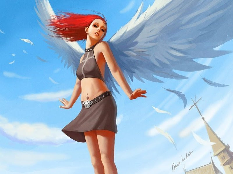 Angel In The Wind, Angels