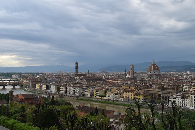 itinerario Florencia