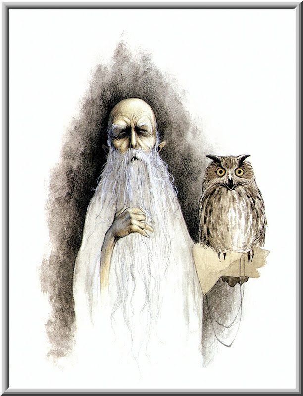 Old Halloween Wizard, Scary Halloween