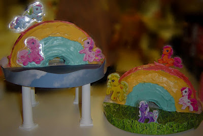 3D My Little Pony Rainbow Shaped Cakes 2