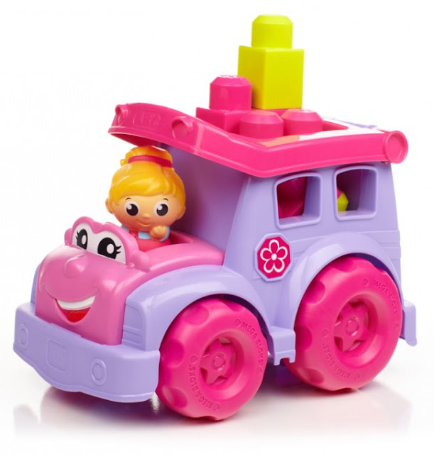 Đồ chơi xe Lil màu hồng Mega Block CXP13