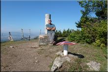 Pagogan mendiaren gailurra 1.029 m. -- 2015eko abuztuaren 5ean