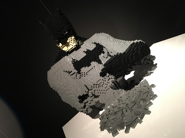 The Art of the Brick - Batman