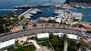 Monaco harbuor overview with Bruno Senna, Williams FW34