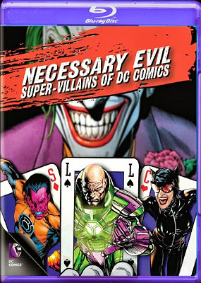 Filme Poster Necessary Evil: Super-Villains of DC Comics BRRip XviD & RMVB Legendado