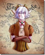 fanart 2 banner como crear buenos personajes novela fantasia fantástica femenino mujer feminismo guerrera ingeniera inventora steampunk