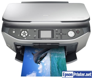 How to reset Epson RX640 printer