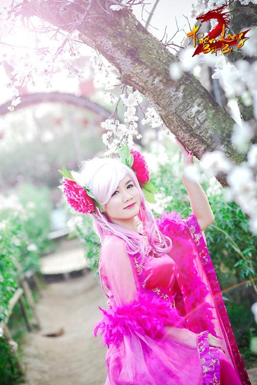 Bảo Ngọc rạng rỡ với cosplay Hoa Tiên Tử trong TLBB 6