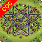 Maps of Clash Of Clans 1.4.0