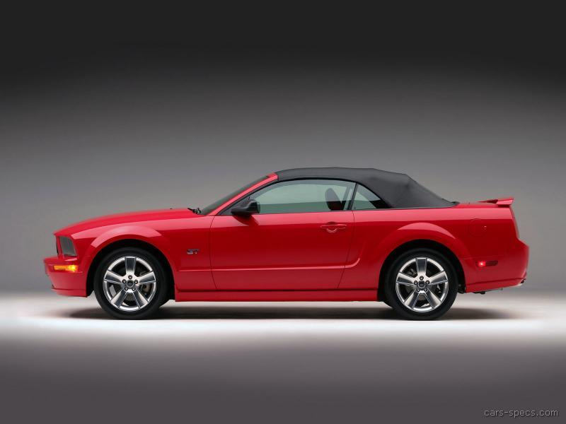 2005 ford mustang convertible specifications pictures prices. Black Bedroom Furniture Sets. Home Design Ideas
