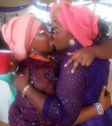 caption this photo: Lagos Women