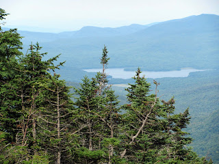 Chittenden Reservoir view from Pico Link Trail. (8/13/11)