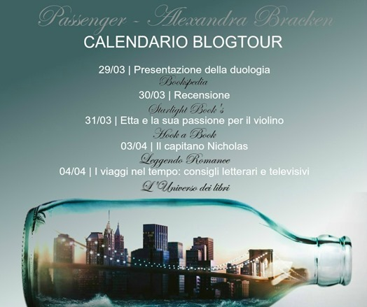 Passenger calendario