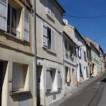 Rue du Château : façades
