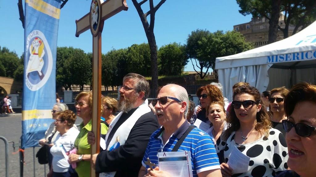 Pielgrzymi z Castellammare w Rzymie, 8 czerwca 2016 - IMG-20160608-WA0015.jpg