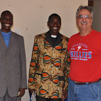 Pastors Michael Mashauri, Peter Dotto, and Jeff Raffauf.