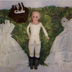 Old Gleaves Doll found in The Willows and restored.