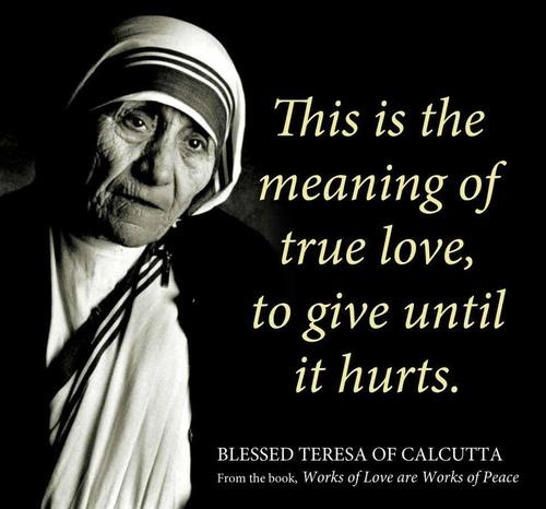 60 Best Mother Teresa Quotes To Inspire You Interesting Mothers Love Quotes