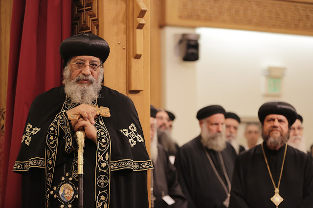 His Holiness Pope Tawadros II visit to St. Mark LA - _09A9164.JPG