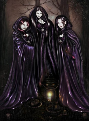 Three Wicked Friends, Wicca Girls