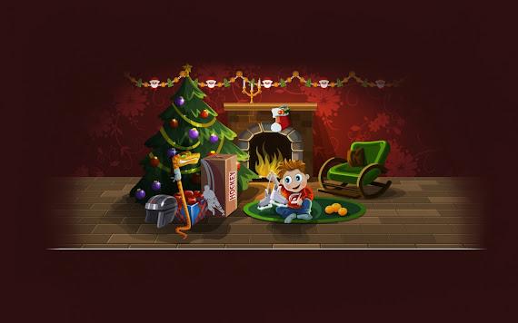 besplatne Božićne pozadine za desktop 1680x1050 free download blagdani čestitke Merry Christmas Božićna jelka darovi kamin