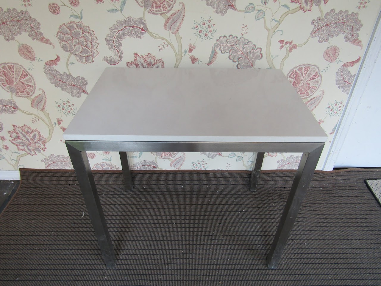 Stone Top Parsons Table 2