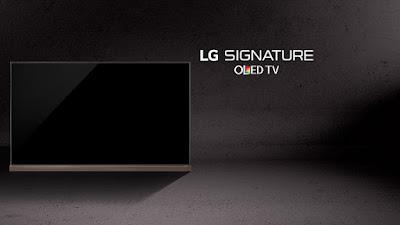 lg signature 4k oled tv W