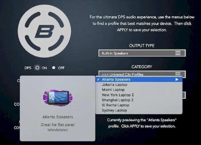 Best Audio Equalizer Apps Bongiovi DPS