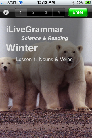 iLiveGrammar Winter Main Page
