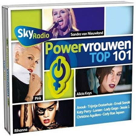 Sky Radio - Powervrouwen Top 101 (2013)