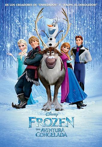 Frozen: Una Aventura Congelada 2013 DVDRip Latino