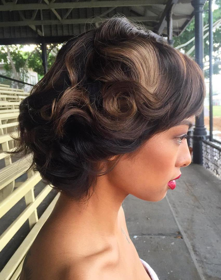 The trendy Wedding Hairstyles For And include hair color 2017 15