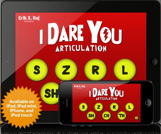I Dare You Articulation Main Page iPod iPad