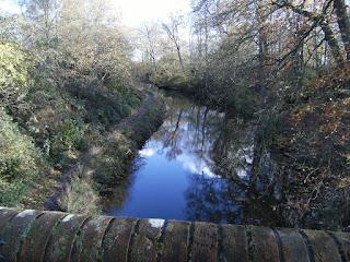 DSCF2634 Basingstoke Canal from Sandy Hill Bridge