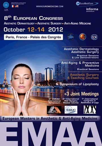 EMAA 2012 - 8th European Masters in Aesthetic & Anti-aging Dr. Sylvie POIGNONEC