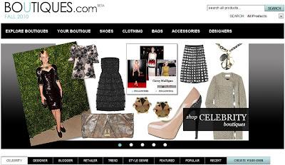 Boutiques. com - O site de moda do Google.