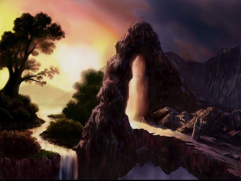 Sorrow Of Weird Lands 17, Magical Landscapes 6