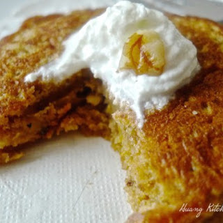 Pumpkin Walnuts Pancakes