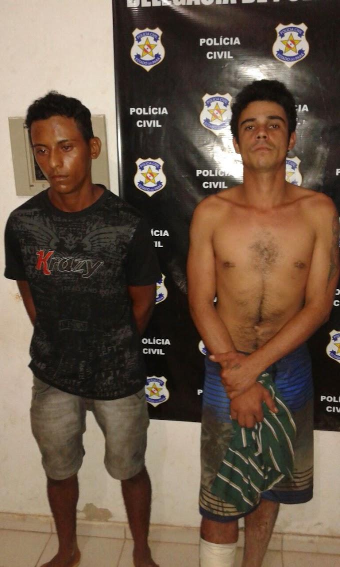 NOVO PROGRESSO/PA: Dupla de vagabundos são presos em flagrante pela Polícia Militar.