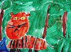 Tiger by Maya