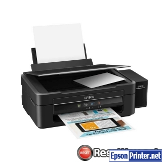 How to reset Epson L360 printer
