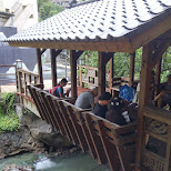 little bridge over the hot springs in Beitou, Taiwan in Beitou, T'ai-pei county, Taiwan