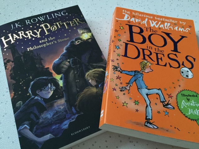 jk rowling harry potter david walliams boy in the dress
