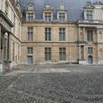 Château d'Ecouen : cour