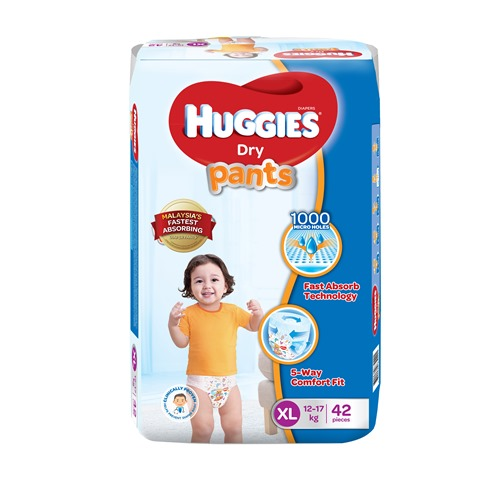 Huggies Dry Pants XL 42