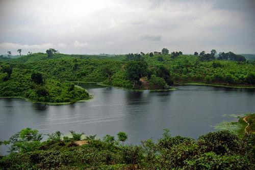 Madhabpur lake in Srimangal